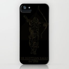The Egyptian Eagle iPhone Case