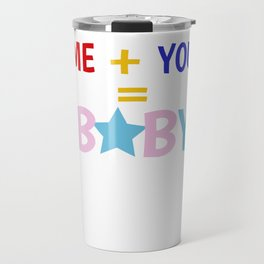 Baby pregnancy mother father child gift Travel Mug