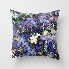 Garden Gate Throw Pillow