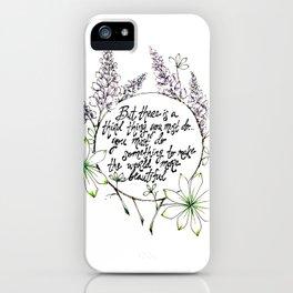 Miss Rumphius iPhone Case