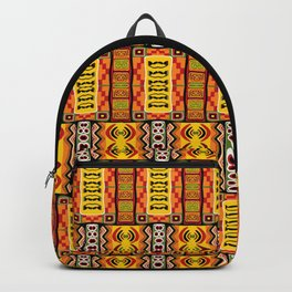 Ethnic African Inspired Pattern Backpack