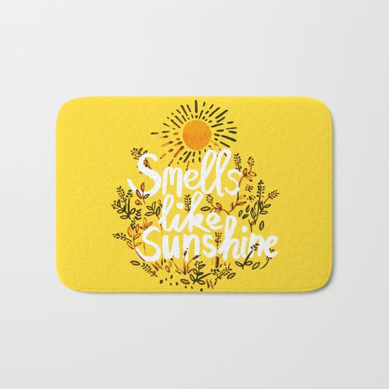 Smells Like Sunshine Bath Mat