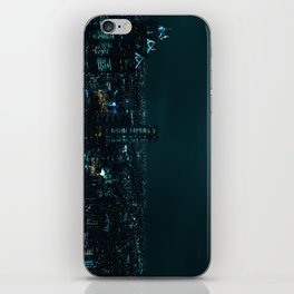 Sleepless city iPhone Skin