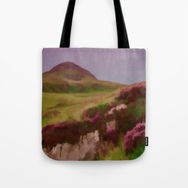 Connemara Ireland Travel Poster Vintage Style Tote Bag