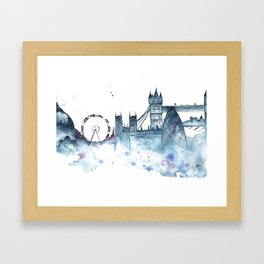 I dream of London Framed Art Print