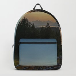 Signal Mountain Overlooking the Sunset Backpack