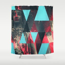Two Ladies Shower Curtain