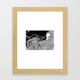 HYPNOTIZED Framed Art Print