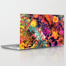 Floral and Birds II Laptop & iPad Skin