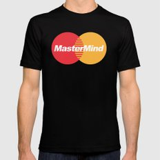 MasterMind Mens Fitted Tee Black MEDIUM
