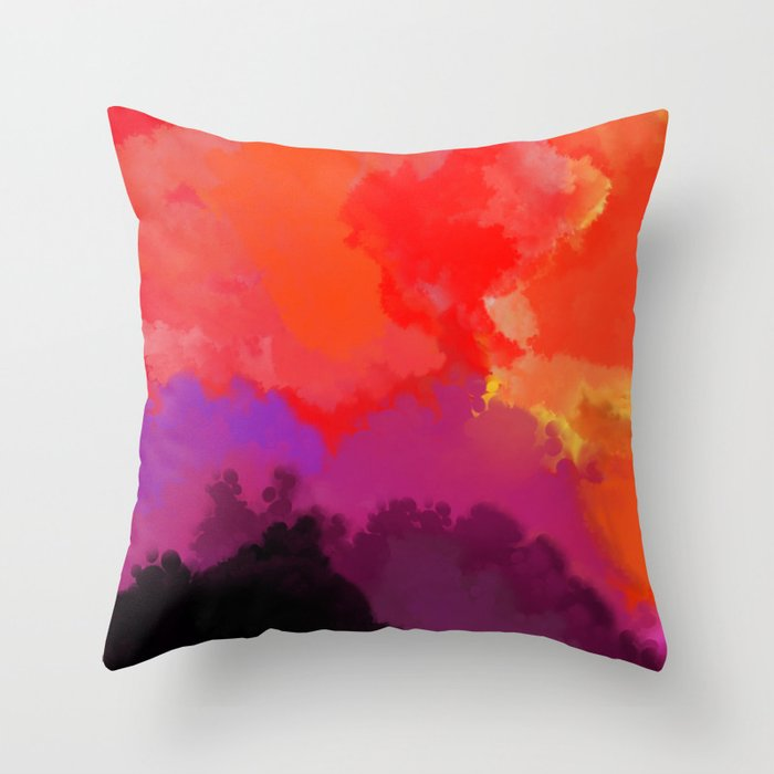 Chaos Throw Pillow