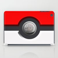 pokeball iPad Cases featuring Pokeball by Studio Momo╰༼ ಠ益ಠ ༽