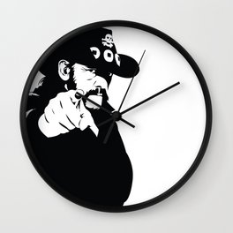 Born to Lose, Lived to Win   Motorhead Wall Clock