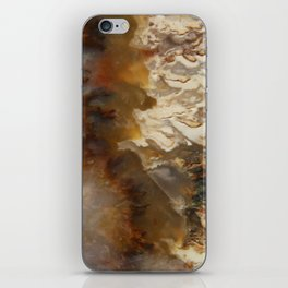 Abstract Agate iPhone Skin