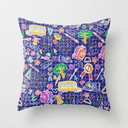 School teacher #7 Throw Pillow