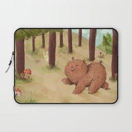 Fat Little Bear Laptop Sleeve