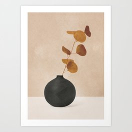 Eucaliptus Decoration I Art Print