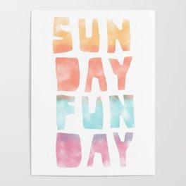 Sunday Funday Poster