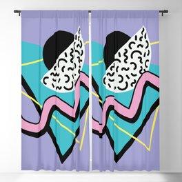 Memphis pattern 74 - 80s / 90s Retro Blackout Curtain