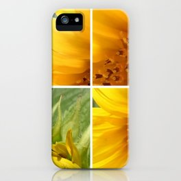 sunflower2 iPhone Case