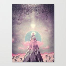 Cado dalle Nuvole Canvas Print