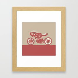 royal enfield special Framed Art Print