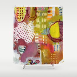 Jellyfish Garden Shower Curtain