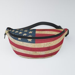 Vintage American Flag Fanny Pack