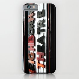 Theatre iPhone Case
