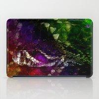 interstellar iPad Cases featuring Interstellar Snake by Distortion Art