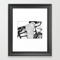 asc 409 - Le velociraptor (The velocirapor) Framed Art Print
