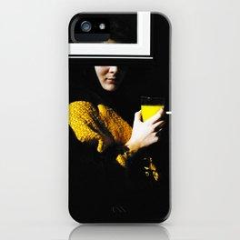 Orange Window Cigarette iPhone Case