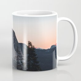 Last Light at Yosemite National Park Coffee Mug
