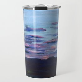 Wetlands at Sunset Travel Mug