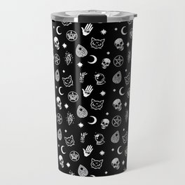Witch pattern Travel Mug