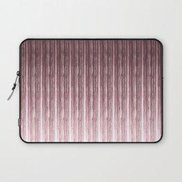 Brown vertical stripes . Laptop Sleeve