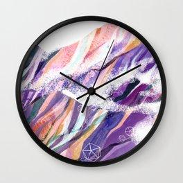 Mountain Wave Wall Clock