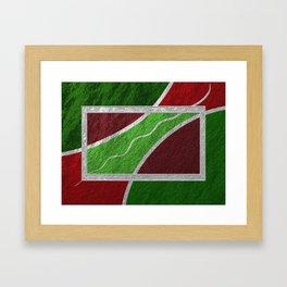 Moderne Framed Art Print