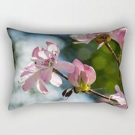 Rhododendron Flower Rectangular Pillow