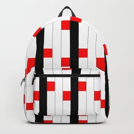 Tribute to mondrian 3- piet,geomtric,geomtrical,abstraction,de  stijl, composition. Backpack