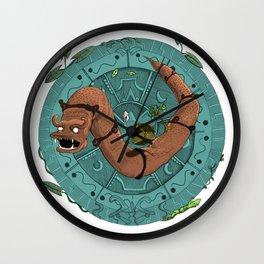 Mandala Dragon Wall Clock