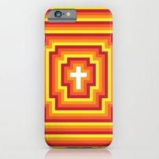 Technicolour Cross - Orange Slim Case iPhone 6s