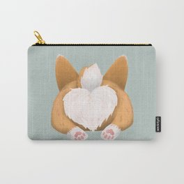 Somebunny loves you / Corgi Butt Carry-All Pouch