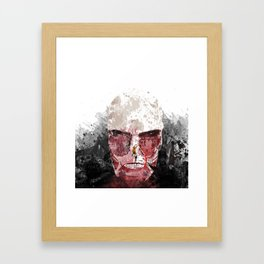 The Hunter and The Pig Framed Art Print