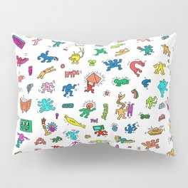 Contemporary Figures Keith Haring Pillow Sham