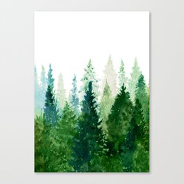 Pine Trees 2 Canvas Print