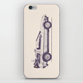Famous Car #2 - Delorean iPhone Skin