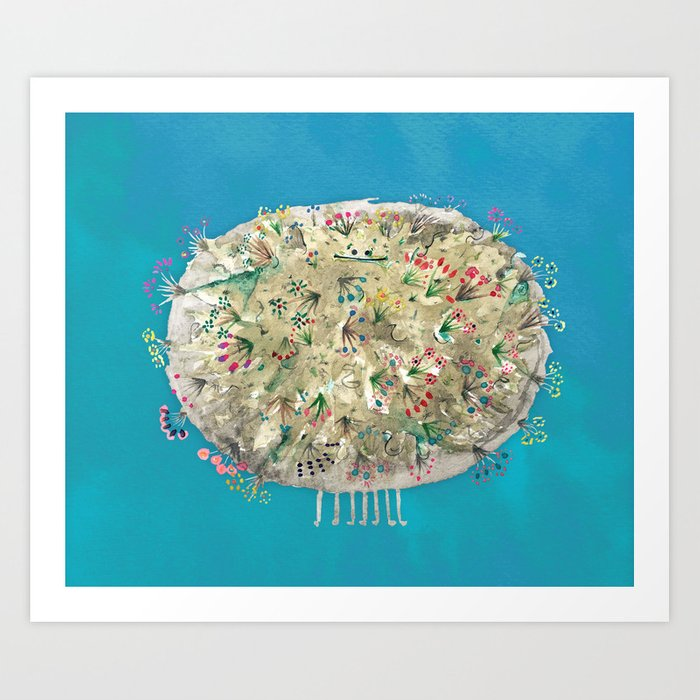 Poofy Dirtsprinkle Art Print