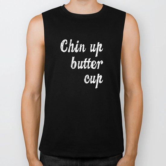 Chin Up Butter Cup Biker Tank