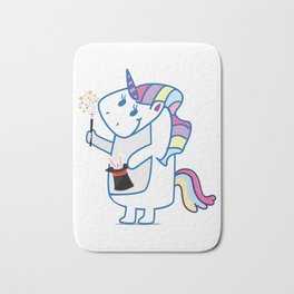 Unicorn, use your illussion Bath Mat